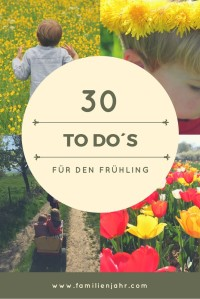 Frühlings-to-do-Liste