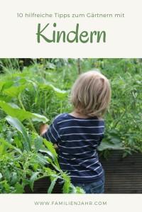 Gärtnernmit Kindern