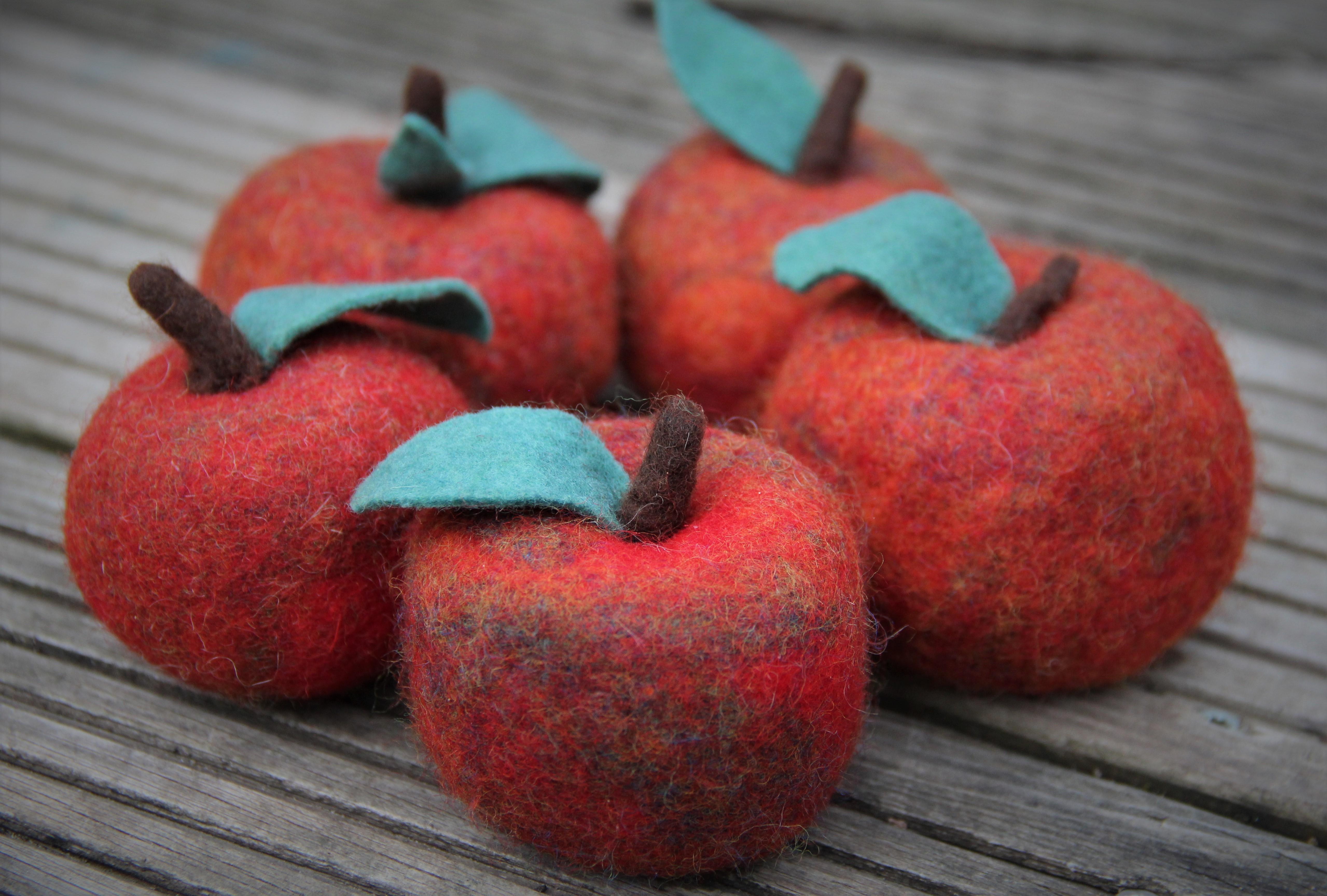 gefilzteäpfel